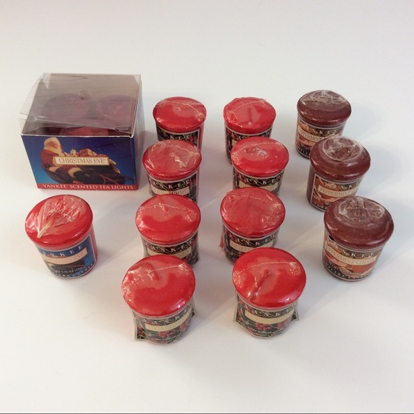 Yankee Candles Holiday votives & tea lights